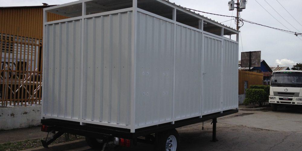 trailer de baño